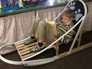 reading sled