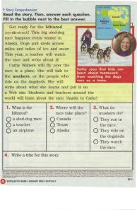 Target® 2009 Iditarod Teacher on the Trail™ featured in Scholastic News Magazine