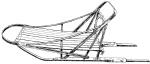 sled drawing