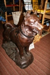 Balto statue at Iditarod Headquarters, Wasilla, Alaska