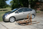 The dog sled and the Toyota Prius