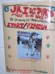 This is the front of a brochure about the Junior Iditarod.