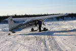 Iditarod Air Force plane