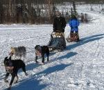 sled ride finish