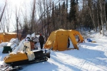 Eagle Island heated tents