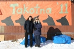 with Takotna teacher, Jolene