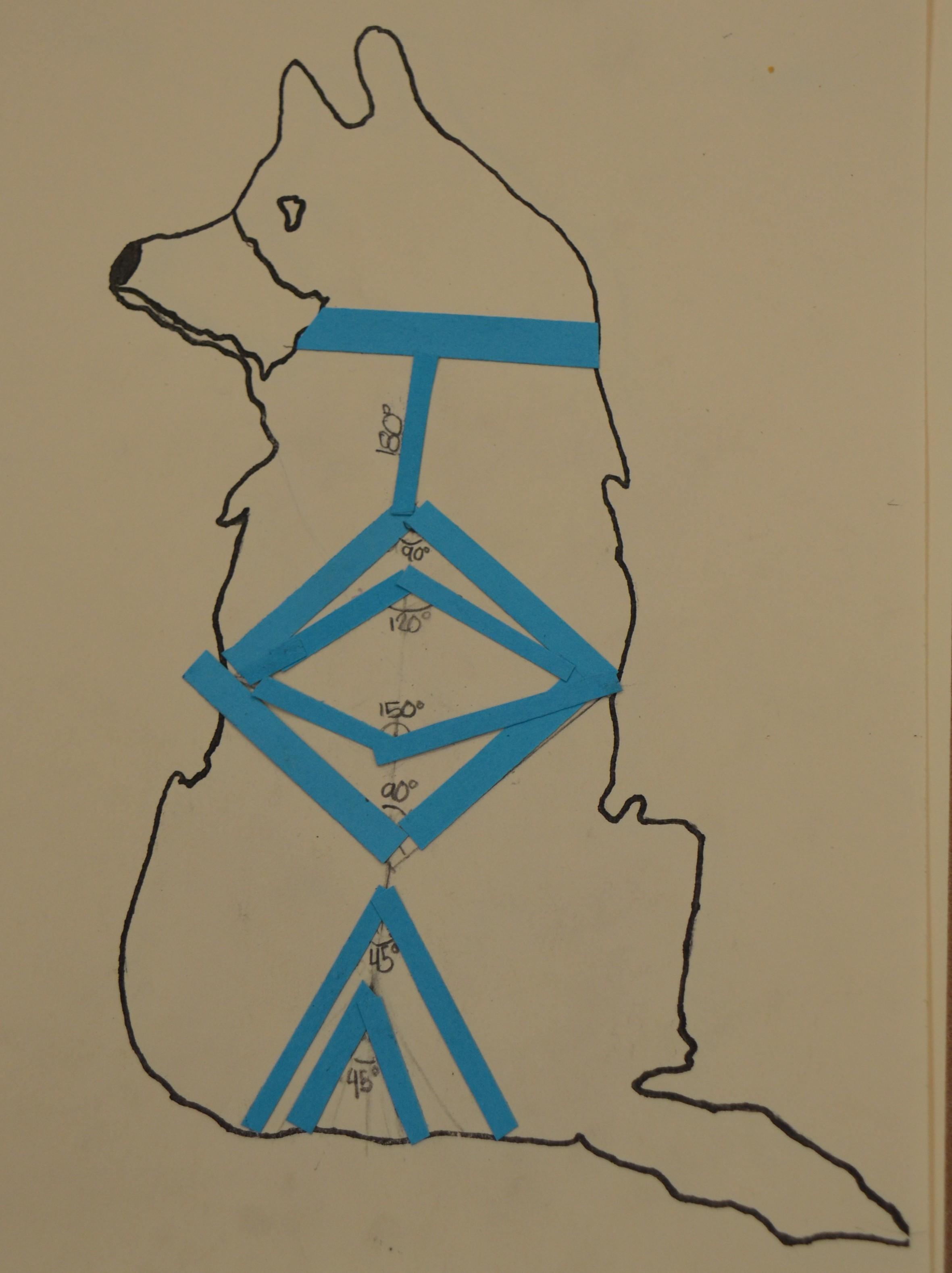 how to make a mini dog sled