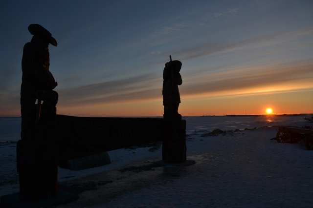 Sunset in Nome