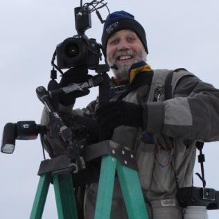 Jeff Schultz at the start of the 2014 Jr. Iditarod.