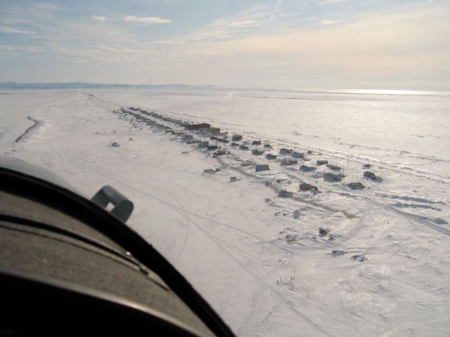 Shaktoolik from the air