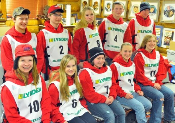 2015 Junior Iditarod Mushers