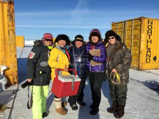 """The """"P"""" Team in Nome"""