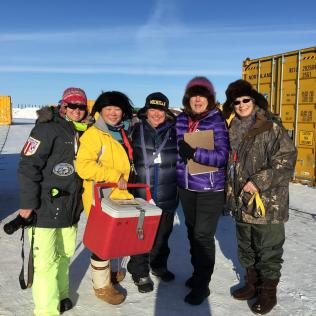 "The ""P"" Team in Nome"