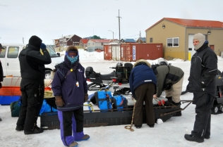 Crew gearing up for Safety checkpoint