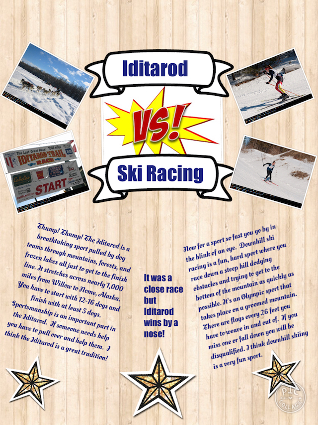 The Iditarod vs. Ski Racing